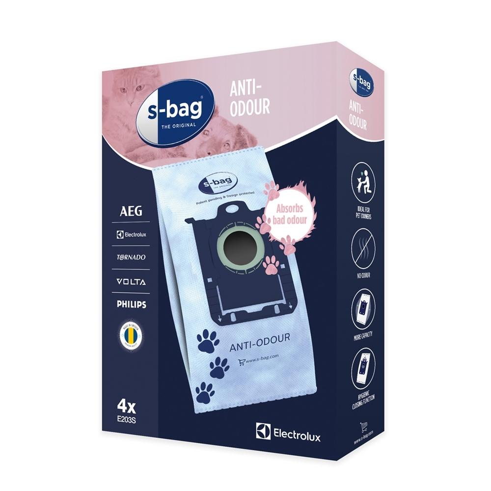 伊萊克斯 吸塵器專用除臭集塵紙袋(E203S)