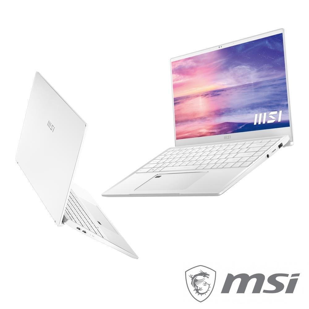 MSI微星 Prestige 14Evo A11M-273TW 14吋輕薄商務筆電(i7-1185G7/16G/1T SSD/Win10/FHD)