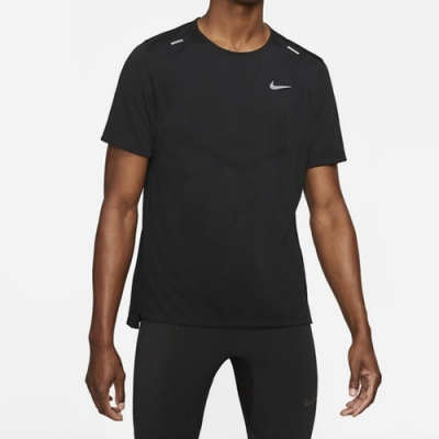Nike DF RISE 365 SS 男短袖上衣 黑-CZ9185013
