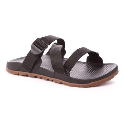 美國Chaco。男LOWDOWN SLIDE輕涼鞋CH-LSM01H405 (經典黑)