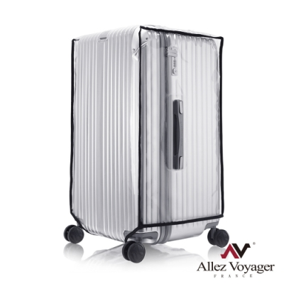 法國奧莉薇閣 3:7行李箱胖胖箱 透明箱套 保護套 防塵套 果凍套(拉鍊)