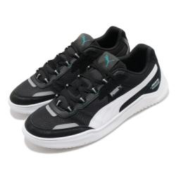 Puma 休閒鞋 MAPM DC Future 男鞋  基本款 簡約 舒適 皮革 球鞋 穿搭 黑 白 30662101