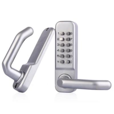 機械密碼鎖 SW209A 無鑰匙防水防潮門鎖  鋅合金 密碼鎖 大門鎖 機械鎖 按鍵密碼