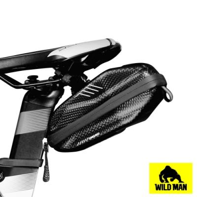 WILD MAN 自行車座墊袋抗壓硬殼防水收納包