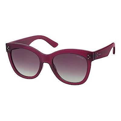 Polaroid PLD 4040/S-柔美眉框太陽眼鏡紫羅蘭色