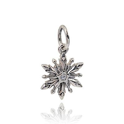 Pandora 潘朵拉 迪士尼系列雪花鑲鋯 垂墜純銀墜飾 串珠