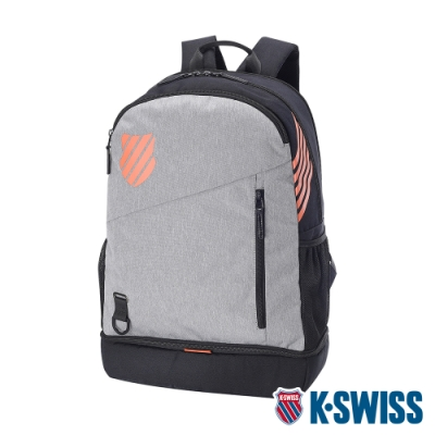 K-SWISS Performance Backpack運動後背包-灰/黑