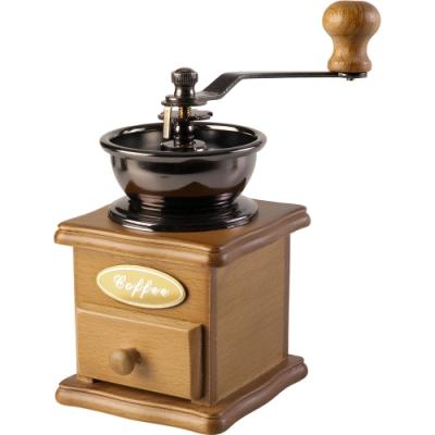 《IBILI》復古手搖咖啡磨豆機(原木色)