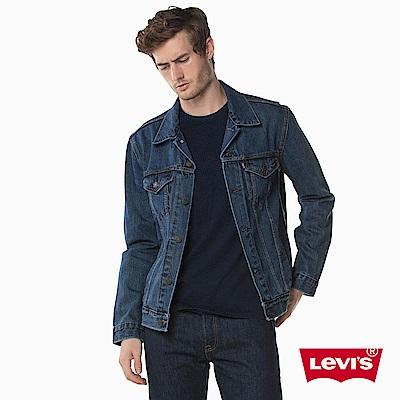 牛仔外套 男裝 Type 3 修身版型 翻領 - Levis