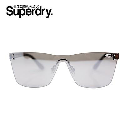 Superdry極度乾燥 墨鏡/太陽眼鏡 ELECTROSHOCK系列 霧面電鍍-黑/迷彩