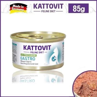Kattovit 康特維 德國貓罐 腸胃保健-火雞肉85g*6罐組