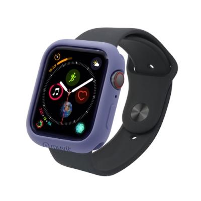 MUVIT Apple Watch Series4 (44mm) 耐衝擊保護殼-薰衣紫