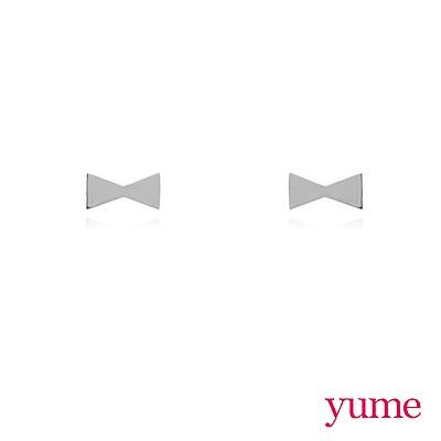 YUME - K金小領結耳環