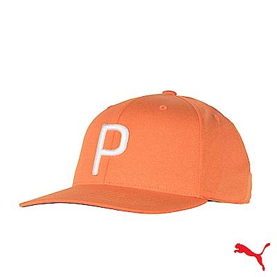 PUMA CAP 男運動帽 橘 021448 05