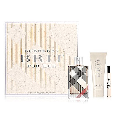Burberry Brit Ladies 香水禮盒