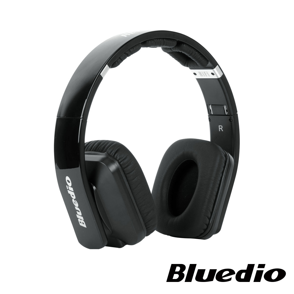 Bluedio (R2-WH)高傳真立體聲耳機(黑)