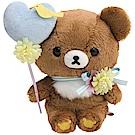 懶妹蜂蜜小熊的粉彩花園系列毛絨公仔。蜂蜜小熊San-X