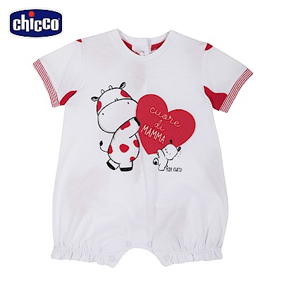 chicco-小乳牛-mama短袖兔裝