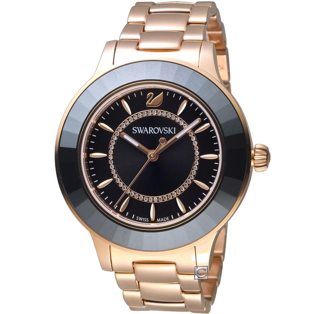 SWAROVSKI施華洛世奇Octea Lux現代時尚腕錶(5414419)