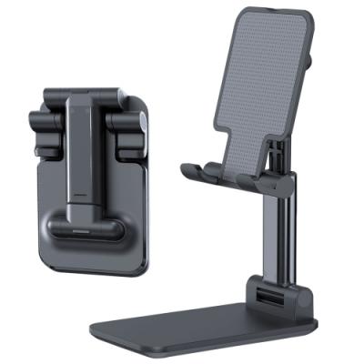 ANTIAN 金屬折疊手機支架 穩固支撐平板支架 多角度調節伸縮手機架 懶人追劇神器