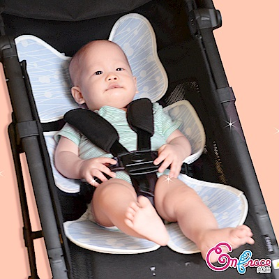 Embrace英柏絲 嬰兒 3D透氣涼爽坐墊 推車涼墊 汽座可用 可水洗-經典款
