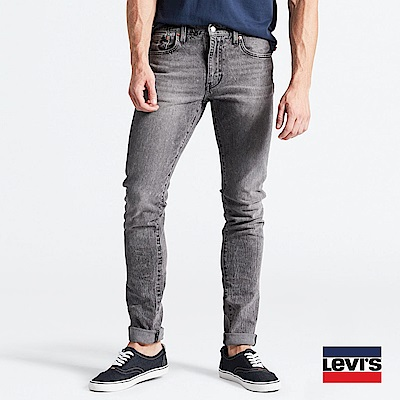 Levis 男款 上寬下窄 512 Taper 低腰修身牛仔長褲 Sneaker Jeans