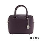 DKNY 時尚通勤手提方包 紫