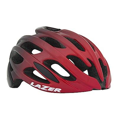 【LAZER】Blade AF 公路車安全帽-亞洲版 黑紅漸層