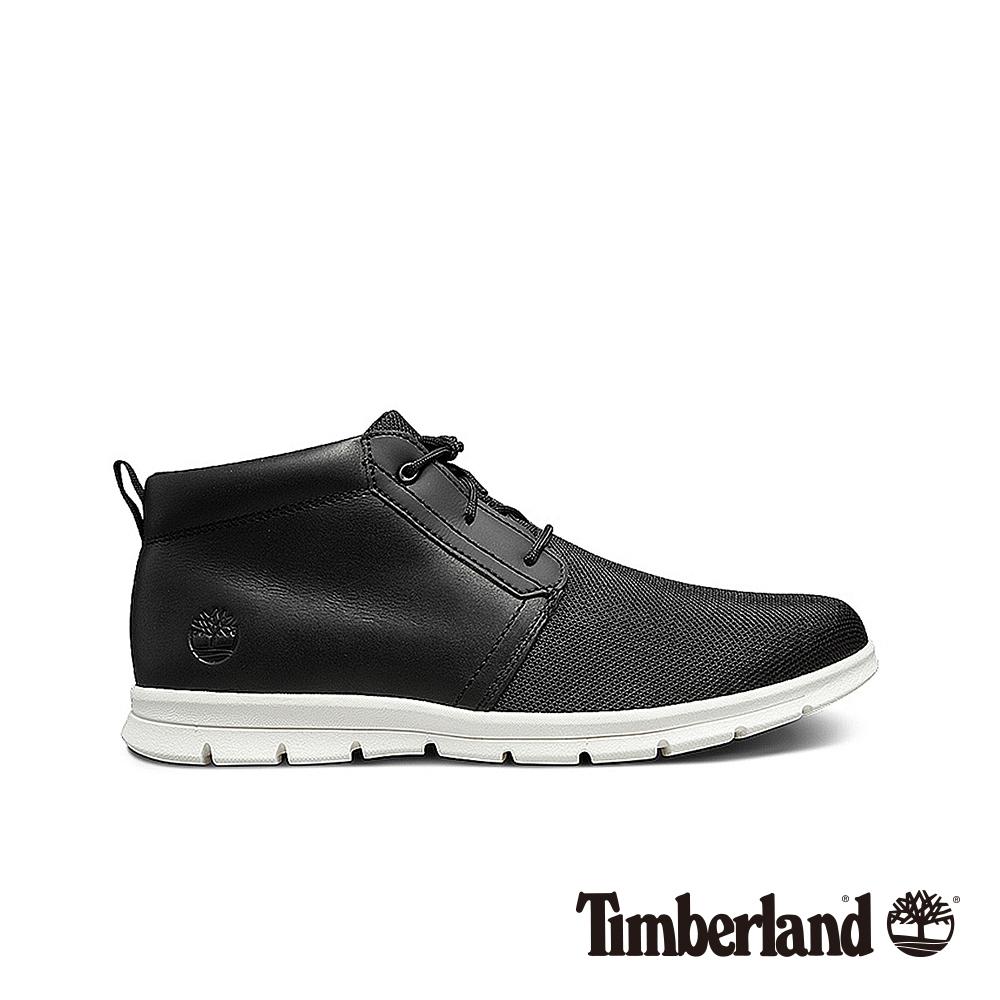 Timberland 男款黑色舒適輕便戶外透氣休閒鞋|A1OG8 @ Y!購物