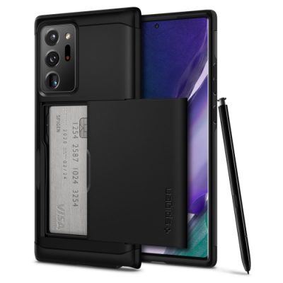 Spigen Galaxy Note 20 / 20 Ultra Slim Armor CS-卡夾軍規防摔保護殼