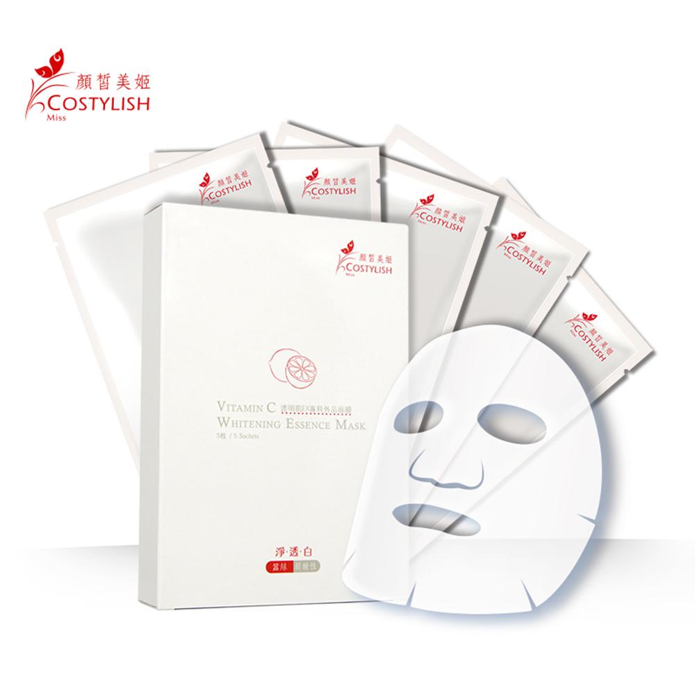 顏皙美姬 透明肌EX專科外品面膜(一盒五片入)