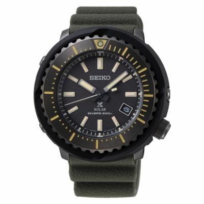 SEIKO PROSPEX小鮪魚太陽能潛水腕錶V157-0DD0SD/SNE543P1