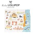 加拿大Loulou lollipop 竹纖維透氣包巾120x120cm-西班牙巴塞隆納