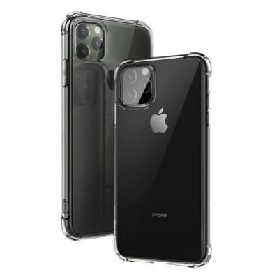 iPhone 11 Pro Max 透明黑 四角防摔氣囊 手機殼 (iPhone11ProMax手機殼 iPhone11ProMax保護殼 )