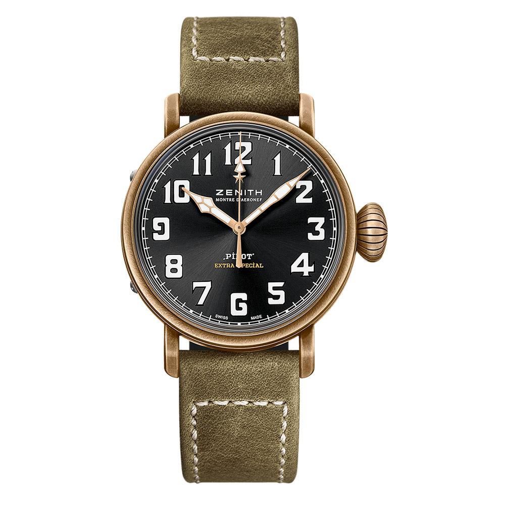 ZENITH 真力時 PILOT Type 20 Extra Special 青銅飛行錶