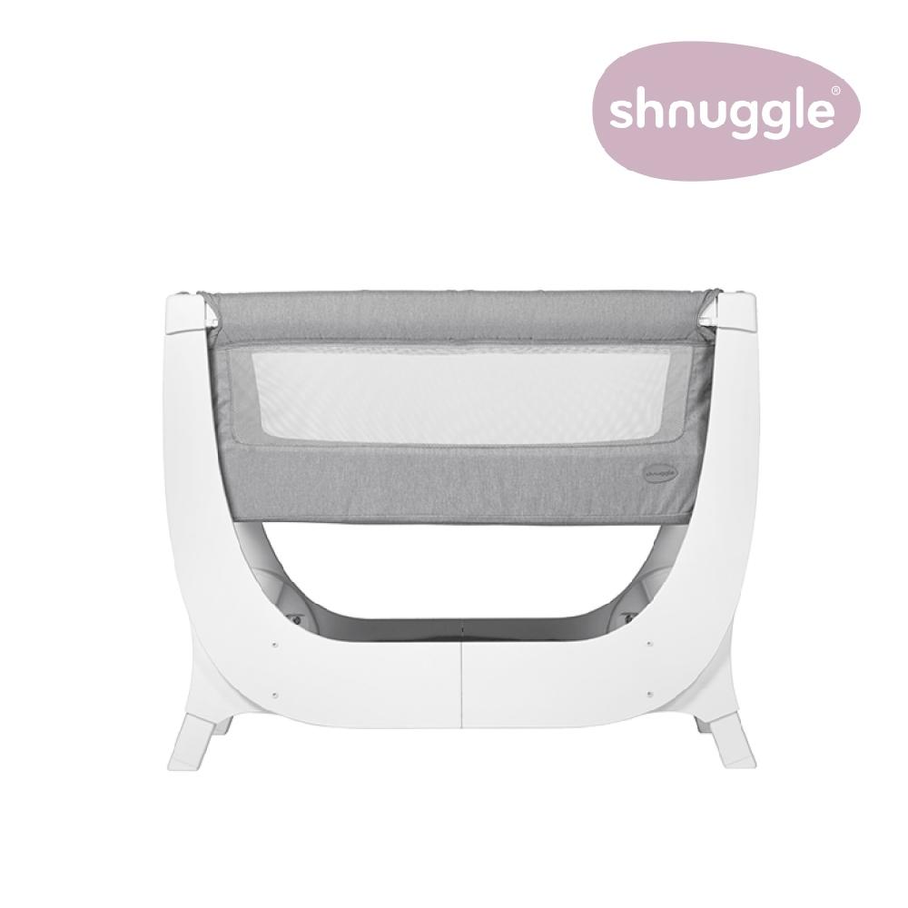 【英國Shnuggle】Air成長型床邊嬰兒床0-6m+床寢組