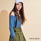 MOMA 露肩牛仔上衣