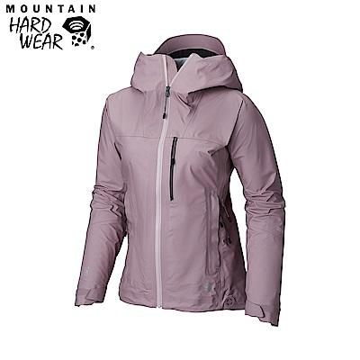 Mountain Hardwear女款-GORE-TEX防水外套-紫色