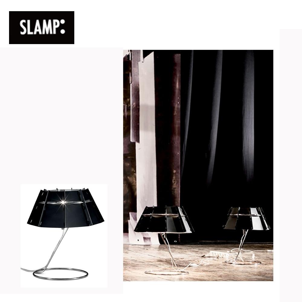 【SLAMP】CHAPEAU TABLE 桌燈(黑)