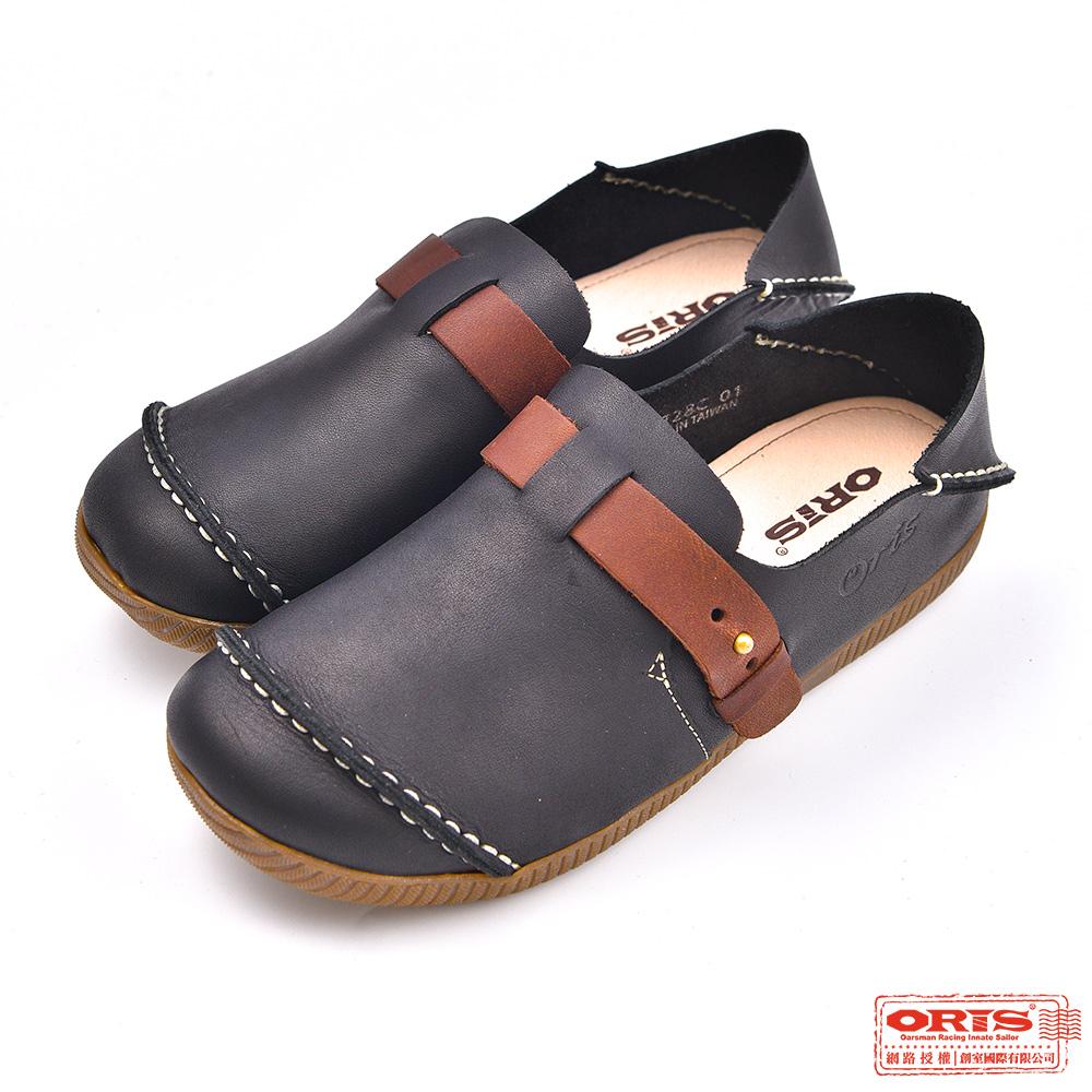 ORIS 女款 2穿真皮 休閒懶人鞋 S7728C01