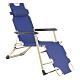 TreeWalker 新款單人加寬三段式躺椅(露營床)-深藍 product thumbnail 1