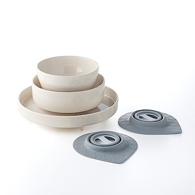 BONNSU-舊金山 Miniware天然寶貝碗組-小小食神5入組
