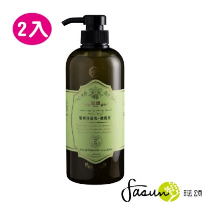 FASUN琺頌保濕沐浴乳-橄欖葉(大瓶裝)650mlx2入