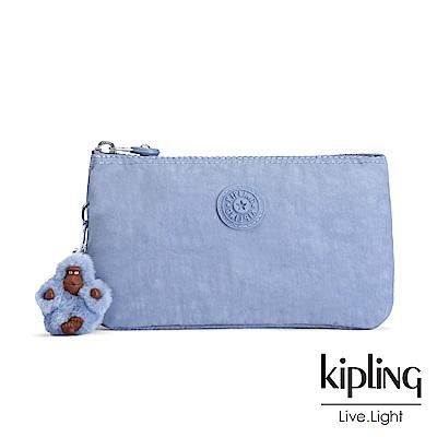 Kipling 溫柔粉藍三層配件包-CREATIVITY L