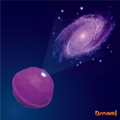 Dreams Projector Dome 銀河系投影球-紫/仙女星座