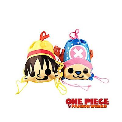 ONE PIECE × PANSON WORKS 海賊王 頭型束口背包