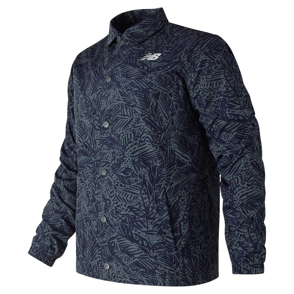 New Balance 教練夾克 AMJ81534MOT 男性 深藍