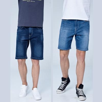 【時時樂限定】 Lee 精選男款牛仔短褲 - 多款選