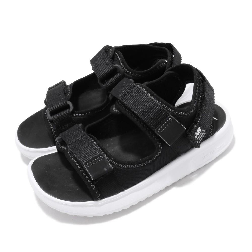 New Balance 涼拖鞋 YH750BKW 寬楦 童鞋