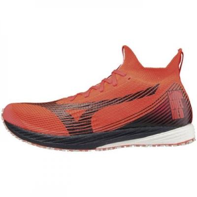 MIZUNO WAVE DUEL NEO 男 馬拉松鞋 紅-U1GD200073